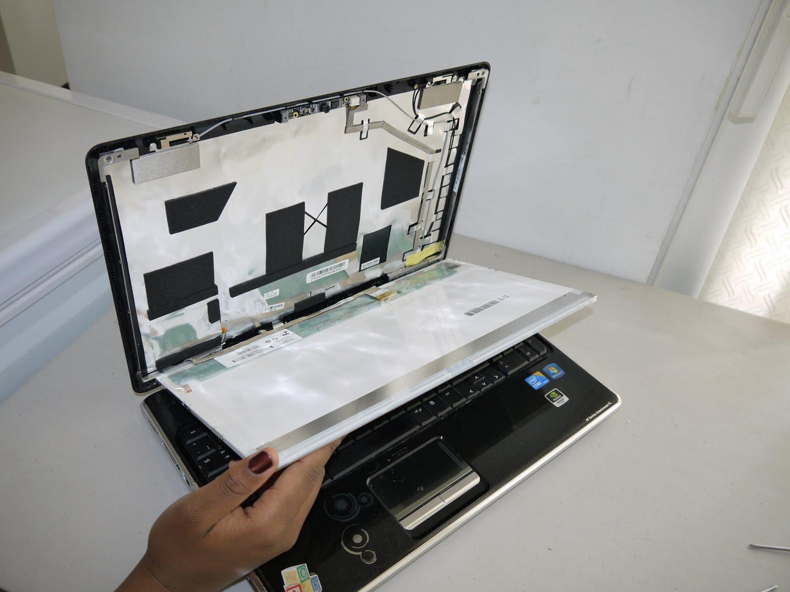 AJParts HP Pavilion DV6-6000 LCD Screen Glossy 15.6 Replacement N156B6-L0B Rev.C2